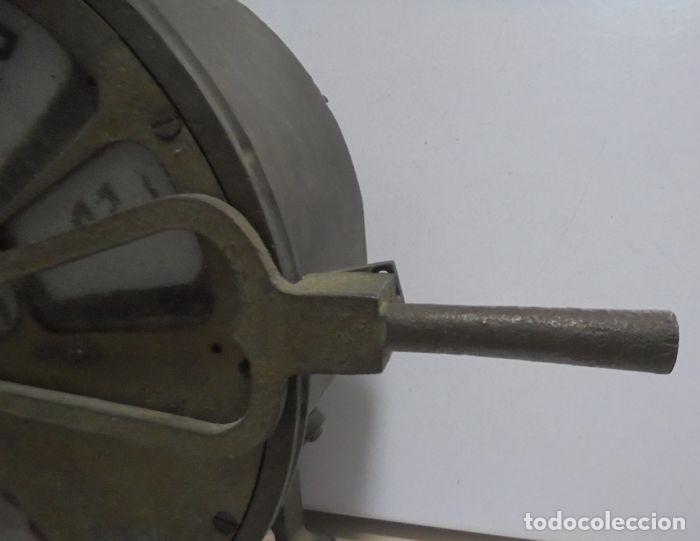 Antigüedades: Telegrafo Nautico ordenes a sala de maquinas. Bronce. 15 x 28 x 32 cm. Ver fotos. Leer descripcion - Foto 3 - 146195782