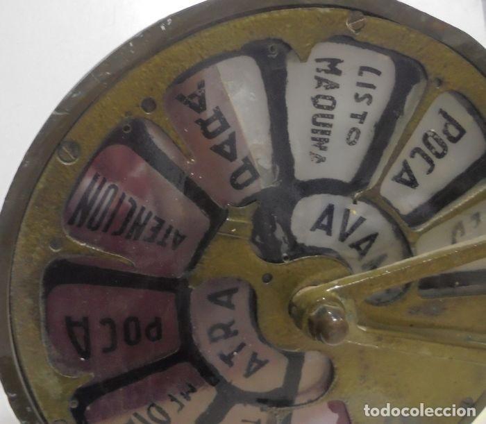 Antigüedades: Telegrafo Nautico ordenes a sala de maquinas. Bronce. 15 x 28 x 32 cm. Ver fotos. Leer descripcion - Foto 8 - 146195782