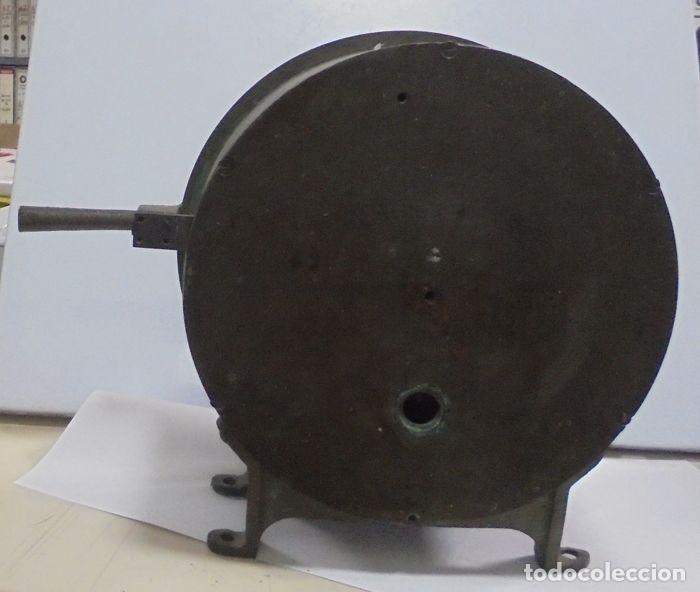 Antigüedades: Telegrafo Nautico ordenes a sala de maquinas. Bronce. 15 x 28 x 32 cm. Ver fotos. Leer descripcion - Foto 14 - 146195782