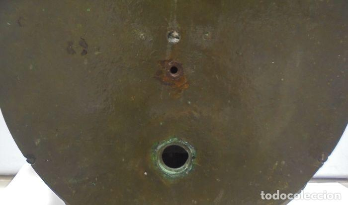 Antigüedades: Telegrafo Nautico ordenes a sala de maquinas. Bronce. 15 x 28 x 32 cm. Ver fotos. Leer descripcion - Foto 16 - 146195782