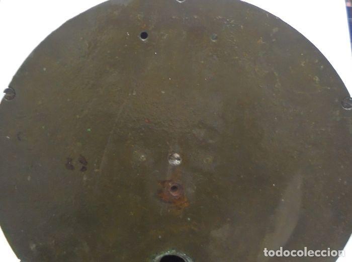 Antigüedades: Telegrafo Nautico ordenes a sala de maquinas. Bronce. 15 x 28 x 32 cm. Ver fotos. Leer descripcion - Foto 17 - 146195782