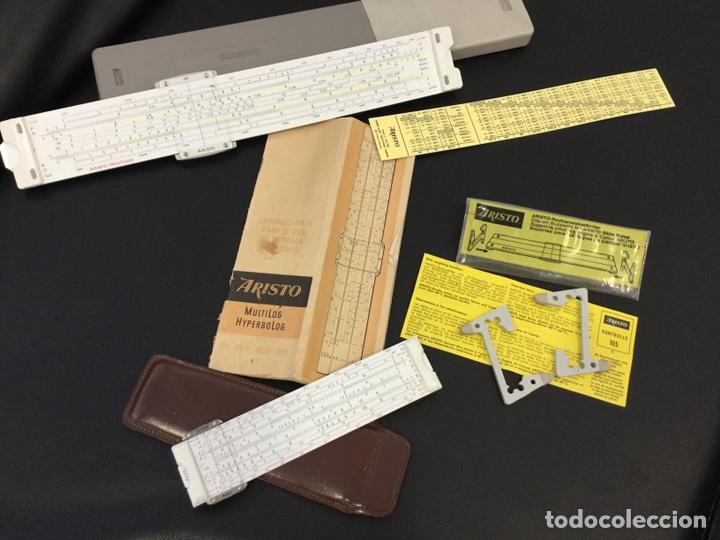 REGLA CÁLCULO ARISTO NR 868 +REGLA NR 0970 (Antigüedades - Técnicas - Aparatos de Cálculo - Reglas de Cálculo Antiguas)