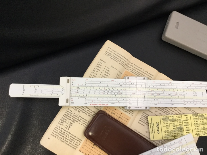 Antigüedades: Regla Cálculo ARISTO NR 868 +Regla NR 0970 - Foto 4 - 146200682