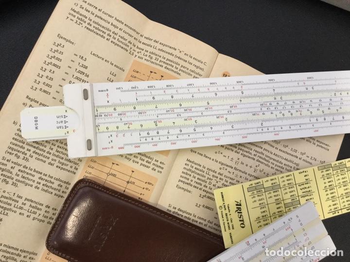 Antigüedades: Regla Cálculo ARISTO NR 868 +Regla NR 0970 - Foto 5 - 146200682