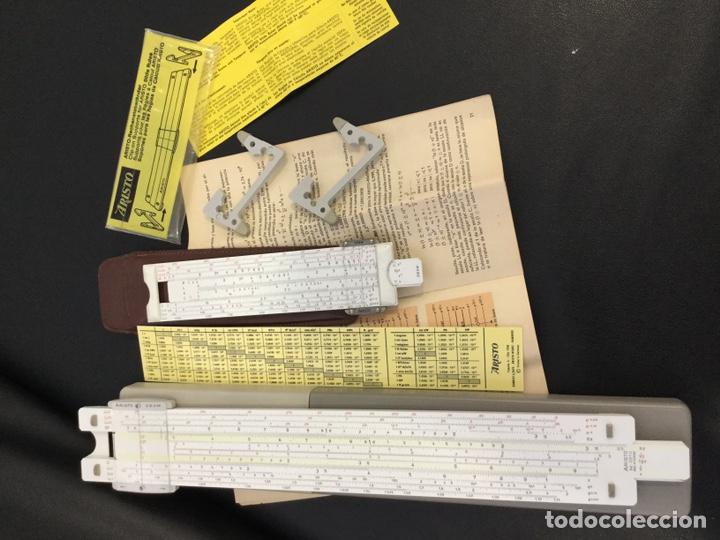 Antigüedades: Regla Cálculo ARISTO NR 868 +Regla NR 0970 - Foto 6 - 146200682