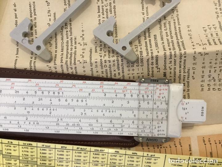 Antigüedades: Regla Cálculo ARISTO NR 868 +Regla NR 0970 - Foto 7 - 146200682