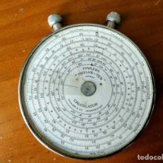 Antigüedades: CALCULADORA FOWLER´S TWELVE - TEN ANTIGUA REGLA DE CALCULO FOWLER SLIDE RULE RECHENSCHIEBER FOWLERS. Lote 146246430