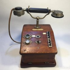 Teléfonos: TELÉFONO NHTM DE FINALES DE LOS AÑOS 1920`S ( NEDERLANDSE HUIS TELEFOON MAATSCHAPPIJ) FÁBRICA FUNDAD. Lote 146263000