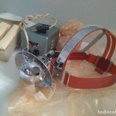 Antigüedades: ANTIGUA LAMPARA FRONTAL-MEDICO AÑOS 1964 CON SU CAJA ORIGINAL SOVIÉTICA. Lote 146334994