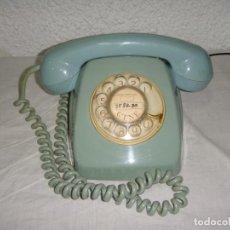 Teléfonos: TELÉFONO VINTAGE DE SOBREMESA - AZUL TURQUESA - AÑOS 60 - CTNE / COMPAÑÍA TELEFÓNICA NACIONAL ESPAÑA. Lote 146370690