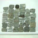 Antigüedades: COLECCION 35X CLICHES IMPRENTA -CATALOGO DE JOYERIAS ESPAÑA - CLICHE CUÑO PLACA PLANCHA JOYERIA 31 . Lote 146516158