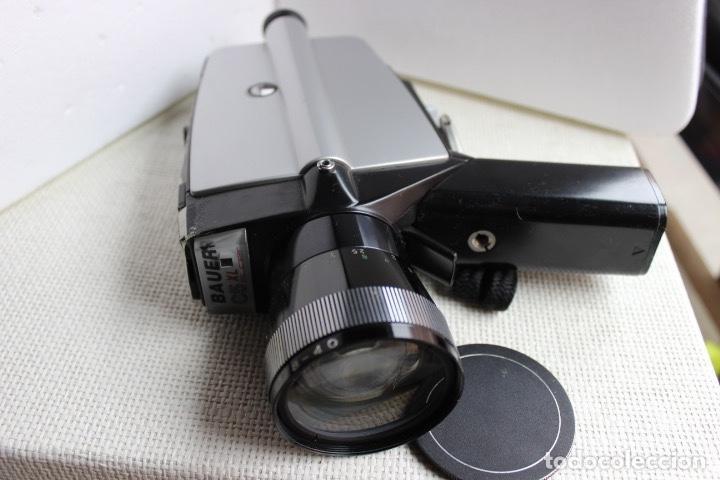 TOMAVISTAS SUPER 8 BAUER C 5 XL (Antigüedades - Técnicas - Aparatos de Cine Antiguo - Cámaras de Super 8 mm Antiguas)