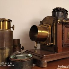 Antigüedades: LINTERNA MÁGICA INGLESA 1880. Lote 146545482