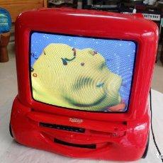 Antigüedades: COCHE CARS TV CON DVD. Lote 211946360