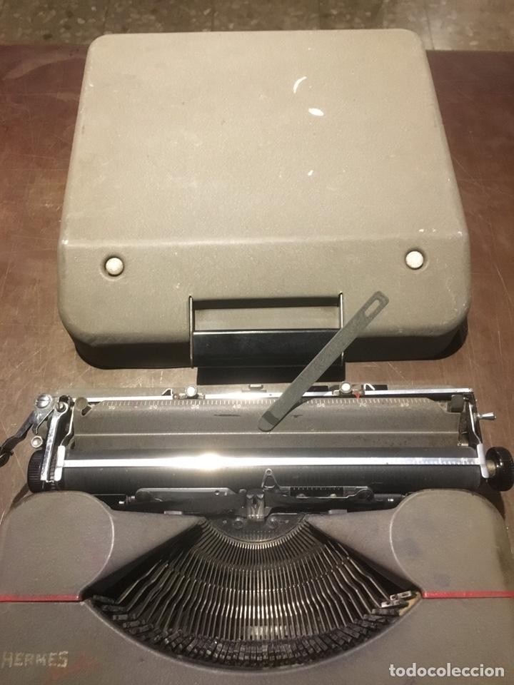 Antigüedades: Maquina de escribir Hermes Baby - Foto 3 - 146669041
