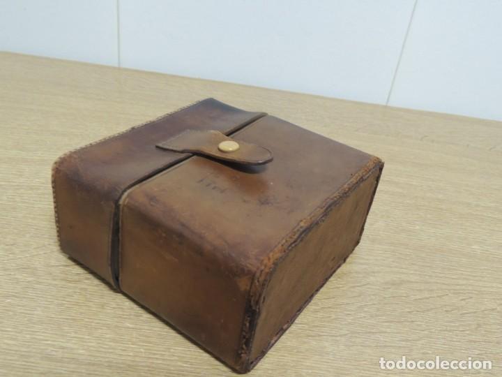 Antigüedades: perfumeros en estuche G.G - Foto 4 - 146692402
