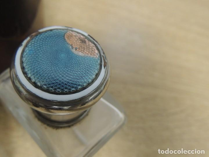 Antigüedades: perfumeros en estuche G.G - Foto 8 - 146692402