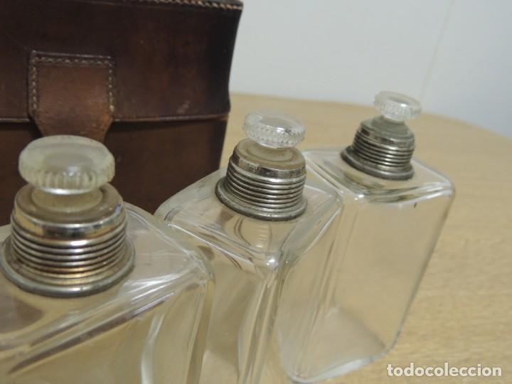 Antigüedades: perfumeros en estuche G.G - Foto 11 - 146692402