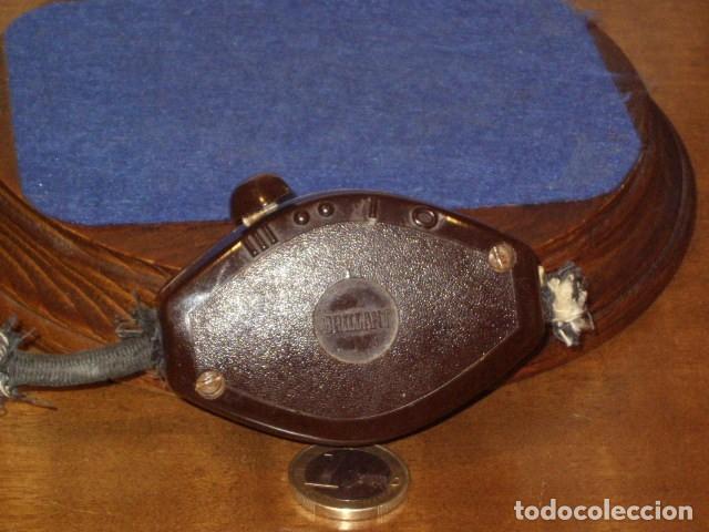 Antigüedades: ANTIGUA PERILLA DE BAQUELITA,INTERRUCTOR DE LAMPARA 3 POSICIONES. - Foto 3 - 146789834