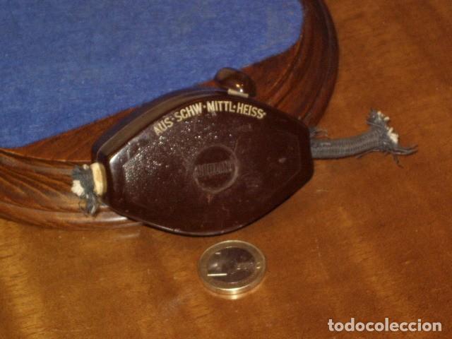 Antigüedades: ANTIGUA PERILLA DE BAQUELITA,INTERRUCTOR DE LAMPARA 3 POSICIONES. - Foto 7 - 146789834
