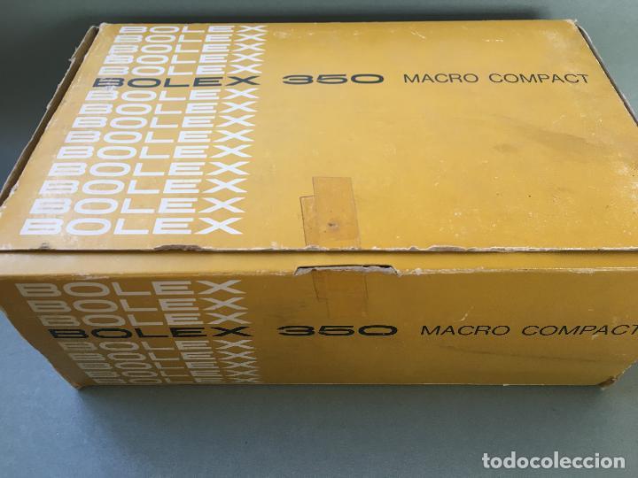 Antigüedades: ANTIGUA FILMADORA BOLEX 350 MACRO COMPACT, EN CAJA ORIGINAL, CON ACCESORIOS - Foto 9 - 146834242