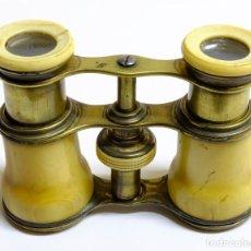 Antigüedades: BONITOS PRISMÁTICOS BINOCULARES DE MARFIL PARA ÓPERA. Lote 146900250