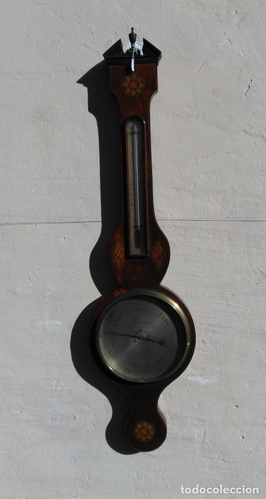Termometro Higrometro Ingles En Madera Comprar Varias Antiguedades Tecnicas Y Cientificas En Todocoleccion 146925878 Somos especialistas en instrumentación de medida. todocoleccion