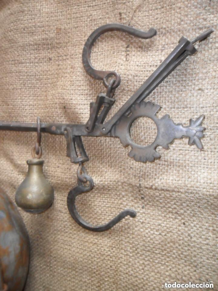 Antigüedades: ROMANA DE HIERRO Y BRONCE SIGLO XIX - Foto 3 - 146957038