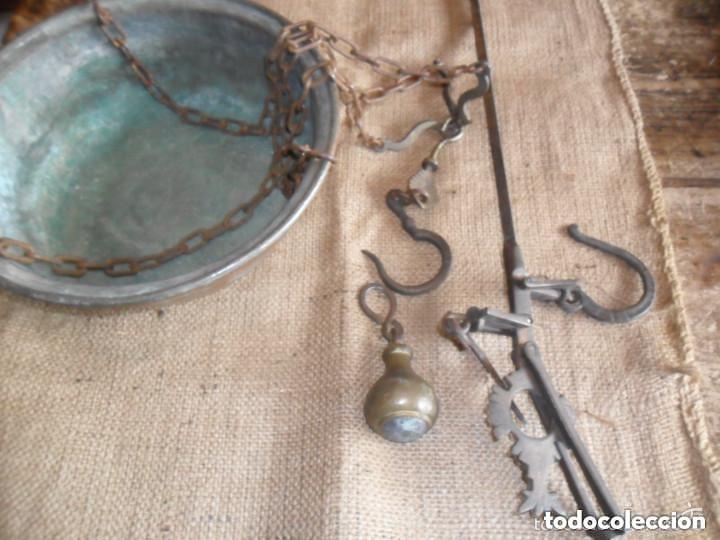 Antigüedades: ROMANA DE HIERRO Y BRONCE SIGLO XIX - Foto 4 - 146957038