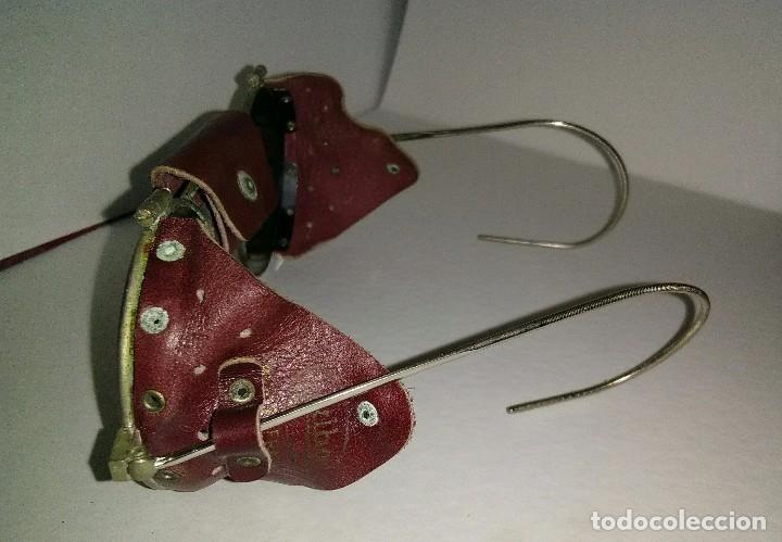 Antigüedades: Antiguas gafas montañismo,alpinismo,steampunk marca Julbo modelo Vermont,en buen estado. - Foto 3 - 146958462