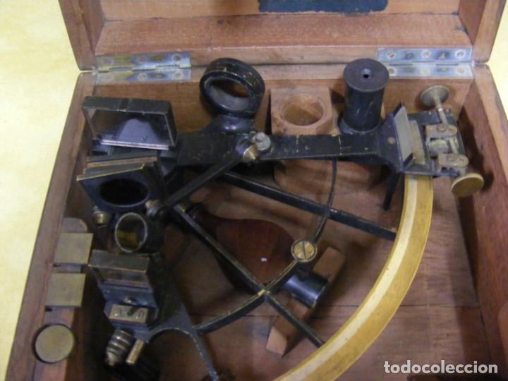 Antigüedades: SEXTANTE ANTIGUO - Foto 2 - 146968582