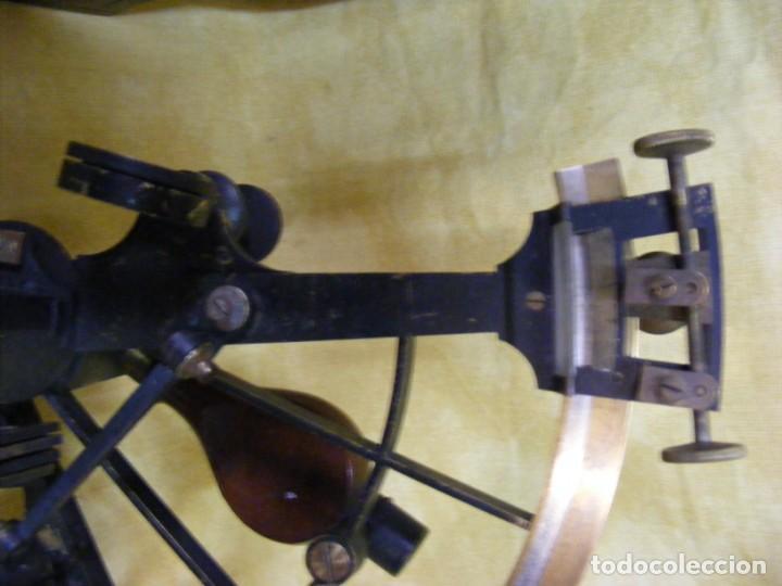 Antigüedades: SEXTANTE ANTIGUO - Foto 5 - 146968582