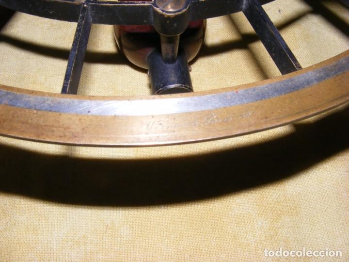 Antigüedades: SEXTANTE ANTIGUO - Foto 13 - 146968582