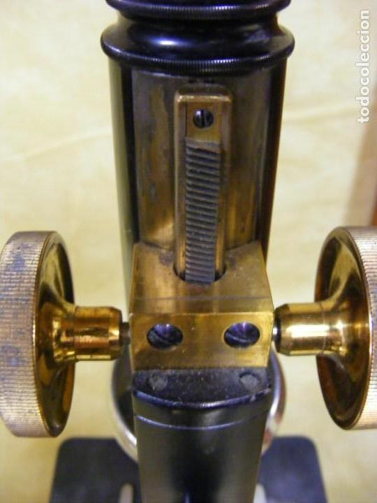 Antigüedades: MICROSCOPIO STIASSNIE - Foto 9 - 146971618