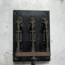 Antigüedades - Interruptor eléctrico de palanca antiguo - 146976150