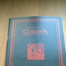 Antigüedades: INSTRUCCIONES MÁQUINA DE ESCRIBIR-**CORONA-3-TYPEWRITER**(EN CASTELLANO) ---FAC-SIMIL. Lote 186234130