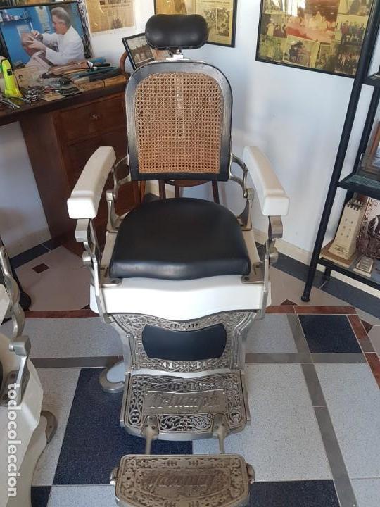 Antigüedades: Sillónes de barbero TRIUMPH - Foto 3 - 147136062