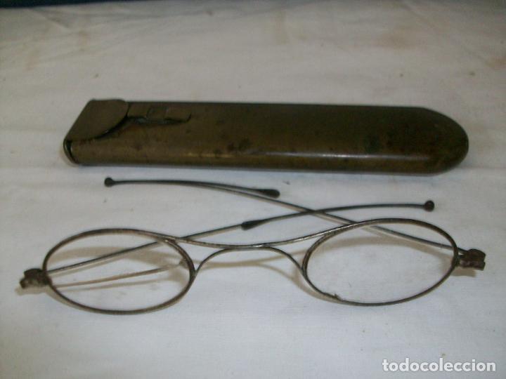 ANTIGUAS GAFAS-EN SU ESTUCHE ORIGINAL-MARCA BREVETE (Antigüedades - Técnicas - Instrumentos Ópticos - Gafas Antiguas)
