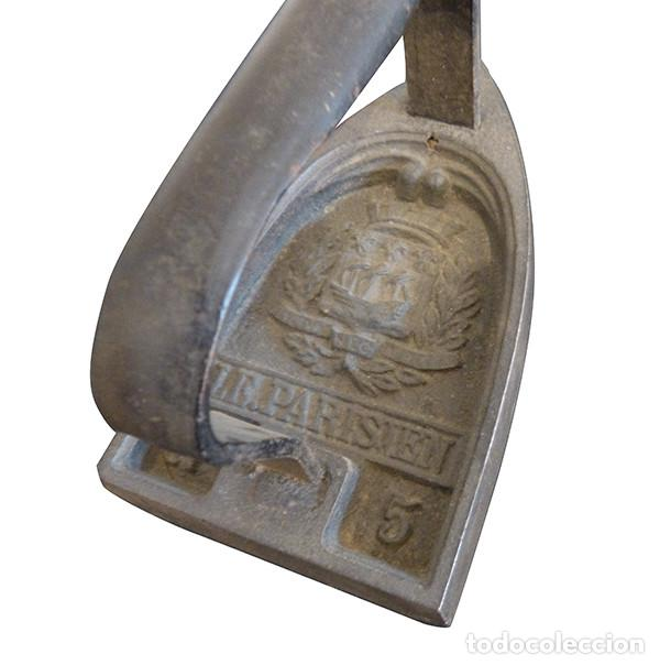 Antigüedades: Plancha de hierro fundido - Foto 2 - 147184970