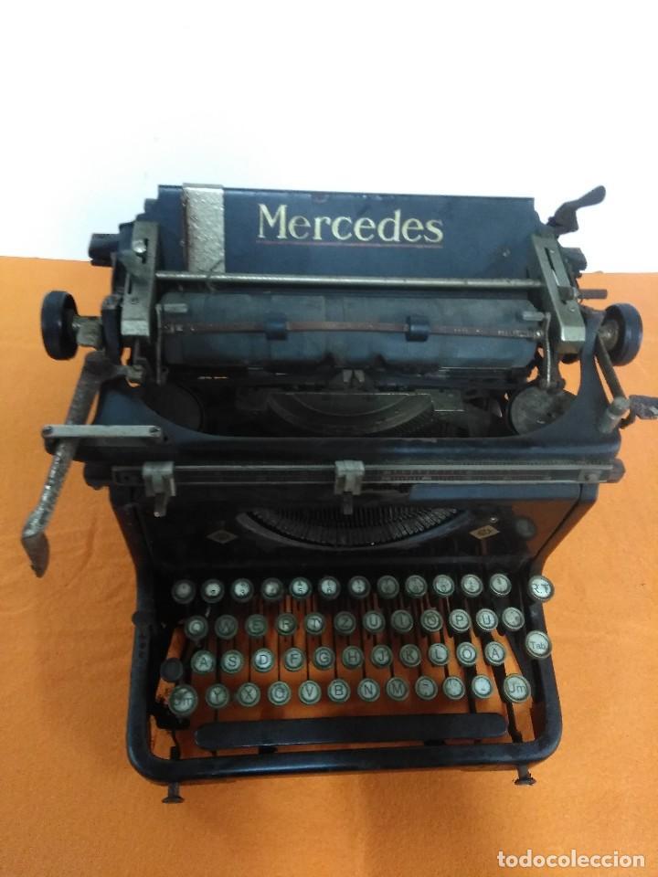 Antigüedades: MAQUINA ANTIGUA DE ESCRIBIR MERCEDES - Foto 2 - 147210850