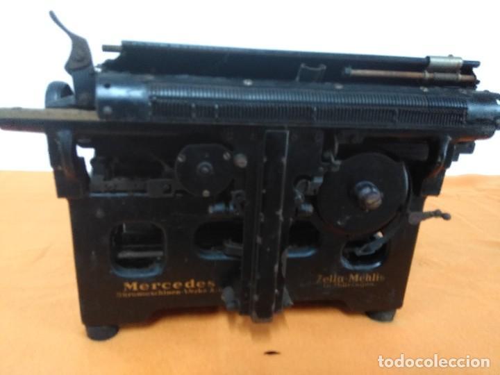 Antigüedades: MAQUINA ANTIGUA DE ESCRIBIR MERCEDES - Foto 5 - 147210850