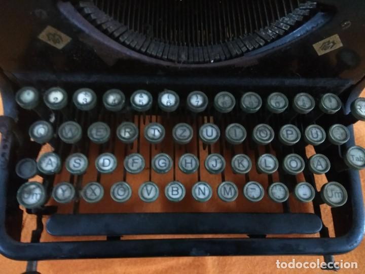 Antigüedades: MAQUINA ANTIGUA DE ESCRIBIR MERCEDES - Foto 6 - 147210850