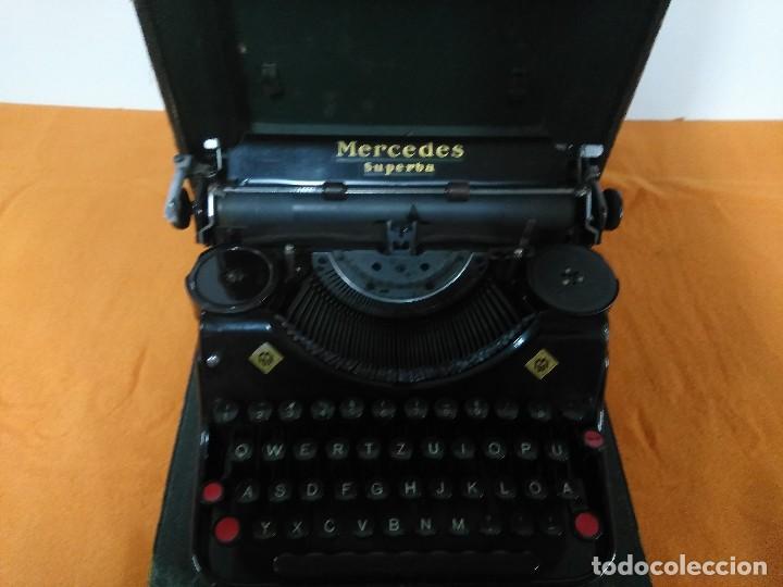 MAQUINA ANTIGUA DE ESCRIBIR MERCEDES (Antigüedades - Técnicas - Máquinas de Escribir Antiguas - Mercedes)