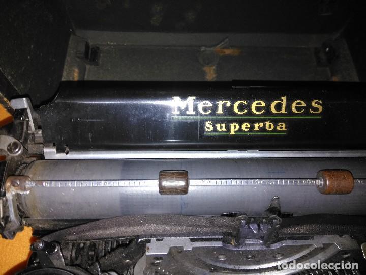 Antigüedades: MAQUINA ANTIGUA DE ESCRIBIR MERCEDES - Foto 3 - 147213298