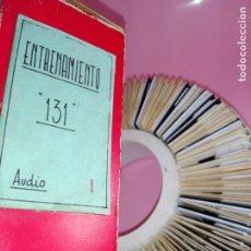 Antigüedades: CAJA CON 100 DIAPOSITIVAS-ENTRENAMIENTO SEAT 131-I-SOPORTE GAF ROTOTRAY 100 UNIVERSAL-COLECCIONISTAS. Lote 147245638