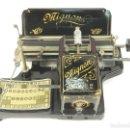 Antigüedades: MAQUINA DE ESCRIBIR MIGNON Nº2 AÑO 1905 TYPEWRITER SCHREIBMASCHINE. Lote 147249874