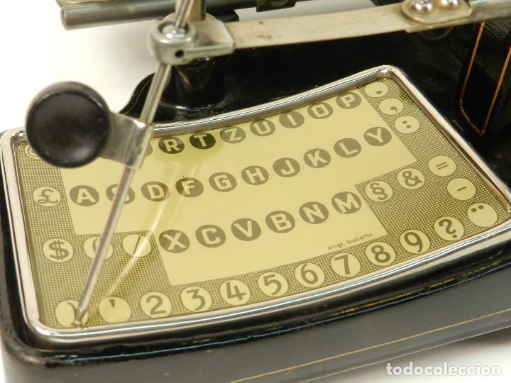 Antigüedades: MAQUINA DE ESCRIBIR MIGNON Nº2 AÑO 1905 TYPEWRITER SCHREIBMASCHINE - Foto 7 - 147249874