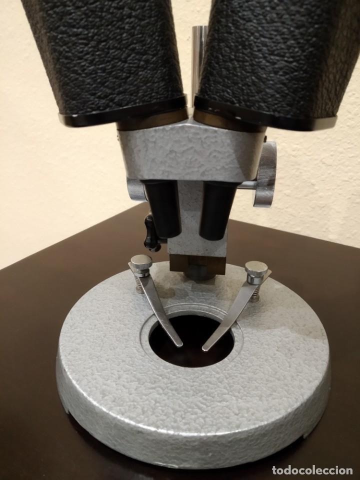 Antigüedades: ANTIGUO MICROSCOPIO BINOCULAR ESTEREOSCOPICO -SOPEL- ALTA PRECISIÓN (RELOJERÍA...) - Foto 6 - 147294542