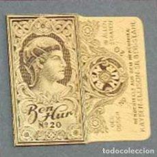 Antigüedades: FUNDA DE HOJA DE AFEITAR BEN HUR Nº 20, MUY RARA, RAZOR BLADE, LAMETTA DA BARBA, ENVOLTORIO, LA FOTO. Lote 147314422