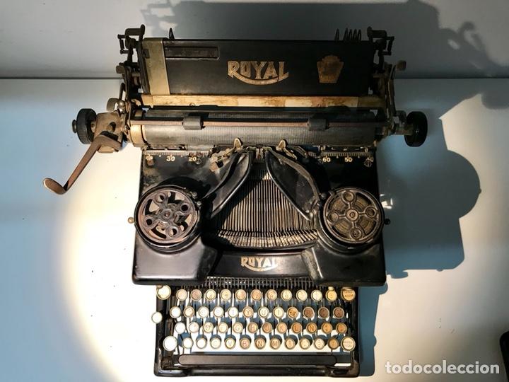 Antigüedades: Antigua máquina de escribir Royal, Trust mecanográfico de Madrid. 1923-24 aprox. - Foto 6 - 147318354